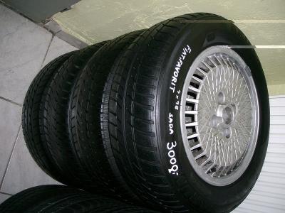 4x Alu kola 6J, 14, ET 38, rozteč 4x98 + letní pneu Barum Brillantis